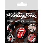 Pyramid International Badges Rolling Stones Classique Multicolore 10 x 12,5 x 1,3 cm