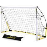 QUICKPLAY Kickster Objectif Amusant 1.8 x 1.2M | Le But Initial du Kickster | Objectif de Football Portable pour le Jardin ou le Parc | Comprend Filet de Football et Sac de Transport [Objectif Unique]