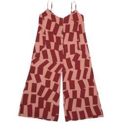 Rectangles pattern sleeveless jumpsuit Bobo Choses