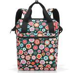 reisenthel allrounder R Sac à dos loisir, 40 cm, 12 liters, Multicolore (Happy Flowers)