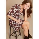 Robes évasées Morgan smockées à manches courtes Taille S look fashion