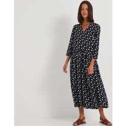 Vêtements Monoprix bleues foncé longs pour femme