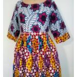 Robe Longue En Wax, Robe Pagne, Africaine, Dashiki, Maxi Imprimée, Ankara, Colorée, D'été