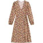 Robe longue portefeuille imprimé floral, longue Multicolore La Redoute Collections