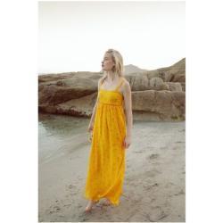 Robes Soi Paris jaunes longues