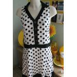 Robe Pois Mariage Sixties 38 40 Rétro Vintage 50s 60s Dress Rockabilly
