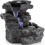 Rochester Falls Fontaine de jardin IPX8 Pompe 6W 3x LED aspect pierre