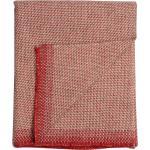 Roros Tweed Couvre-lit/ plaid Una 150x200cm rouge clair Lxl 150x200cm