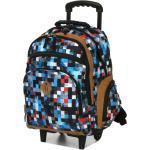 Sac à dos à roulettes Snowball Fiesta Study Blue Mosaic bleu Solde