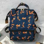Sac À Dos Pour Les Femmes Fashion Fox Pattern Sac À Dos Féminin School Bag Pour Les Filles Harajuku Student Bookbag