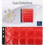 Sachet de 3 recharges numismatiques 30 cases de diamètre 30mm - 24,5x25 cm - Cristal