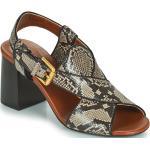 Chaussures d'été saison été See by Chloé multicolores avec un talon entre 7 et 9cm pour femme
