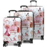 Set 3 valises rigides Madisson La Parisienne Blanc