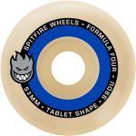 Set de 4 Roues de Skateboard Spitfire Tablet Natur