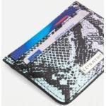 Skinnydip - Porte-cartes en peau de serpent