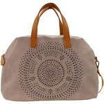 SOCCX Aisha Bowling Bag Light Grey