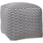 Sofa en jacquard Gaby & Sam (Coton 100% Organique) Gris Noukie's