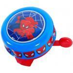 Sonnette metal ronde spiderman velo enfant new