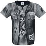 Sons Of Anarchy - Jax Teller - T-Shirt Manches courtes - pour les hommes - noir