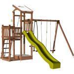 Soulet - Aire de jeux pour enfant 2 tours avec portique et bac à sable - FUNNY Swing 150 sans option
