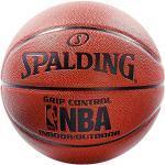 SPALDING - NBA GRIP CONTROL IN/OUT SZ.7 (74-577Z) - Ballons de basket NBA - Touché et Contrôle améliorés - Matière Durable, Mixte Adulte, Orange, 7