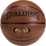 SPALDING - NBA NEVERFLAT IN/OUT SZ.7 (74-096Z) - Ballons de basket NBA - Touché et Contrôle améliorés - Matière Durable, Mixte Adulte, Orange, 7