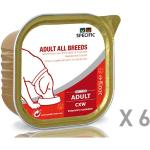 Specific chien Adult All Breeds CXW 6 barquettes de 300g