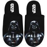Star Wars Pantoufles Darth Vader Dark Side Polyester House Chaussures - Noir - 41-42 EU