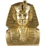 statue En Laiton Du Roi Toutankhamon, Pharaon Égyptien Buste Antique De Tut