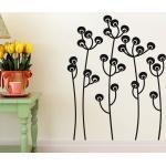 Sticker Design fleurs en boule