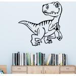 Sticker dinosaure petit tyrannosaure