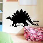 Sticker dinosaure stégosaure