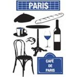 Stickers Ville Paris 50x70cm - Paris Prix