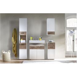 Stylefy Marapa Ensemble de salle de bain Blanc