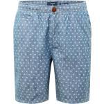 Superdry Pantalon chino bleu / gris clair