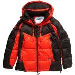 Manteaux Superdry rouges pour homme