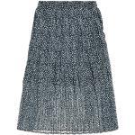 SUPERDRY Summer Pleated Skirt W /marine ditsy L Sportswear Femme bleu