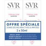 SVR Topialyse Barrière Crème Réparatrice Lot de 2 x 50ml