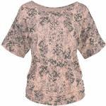 T-shirt LASCANA avec nuds aux manches - Lascana - Rose