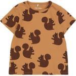 Vêtements Mini Rodini marron à motif écureuils Bio éco-responsable pour femme