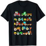 T Shirt Tracteur Enfant Garcon Tracteurs Véhicules Agricoles T-Shirt