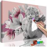 Tableau à Peindre Soi-Même Angel's Dreams 40x60cm - Paris Prix