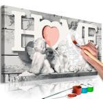 Tableau à Peindre Soi-Même Anges Home 40x80cm - Paris Prix