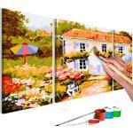 Tableau à Peindre Soi-Même Maison de Campagne 50x80cm - Paris Prix