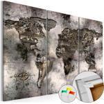 """Ancient World Map/"""" Tableau En Liège /""""carte Du Monde Paris Prix"""