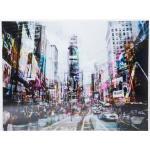 Tableau en verre Times Square Move 120x160 cm
