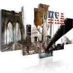 Tableau - États-Unis 200x100
