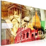Tableau Imprimé 3 Panneaux Rome Charmant - Paris Prix