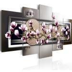 Tableau Imprimé Magnolia & Zen Garden - Paris Prix