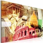 Tableau Imprimé Rome Charmant - Paris Prix